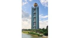 Longxi International Hotel, kaxite Technologie, Polyamid Profil für Fassade, Polyamid thermische Trennung