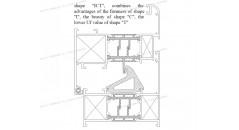 Uf 2 . 0 K / m2K, thermische Brüche, Lösungen für Fensterrahmen aus Aluminium