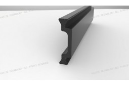Wärmedämmung Streifen, Form C 22 mm Wärmedämmung Streifen, Wärmedämmung Polyamid, PA66 GF25 Wärmedämmung