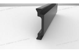 thermische Barrierestreifen, Form C 24mm thermische Barrierestreifen, thermische Barriere Aluminiumprofil, thermische Barriere Aluminiumfenster