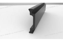 thermische Barriere bar, Form C 25mm thermische Barriere bar, thermische Barriere Aluminiumprofil, thermische Barriere Aluminiumfenster