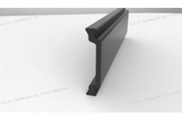 Wärmebarriere Streifen, Form C 28 mm Wärmebarriere Streifen, Wärmesperre Aluminiumprofil, Wärmesperre Aluminiumfenster