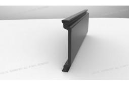 Wärmedämmung Strebe, Form C 34 mm Wärmedämmung Strebe, Wärmedämmung Aluminiumprofil, Wärmedämmung Aluminium-Fenster