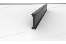 wärmedämmende Strebe, wärmedämmende Strebe für einen Alu-Rahmen, wärmedämmende Strebe für Fensterrahmen, wärmedämmende Strebe für Aluminium-Rahmen, Form I 14 . 8 mm wärmedämmende Strebe