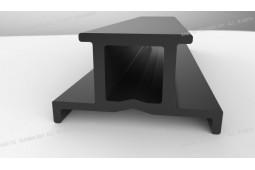 große Wärmebruch Nylon Profil, extrudierten Wärmebruch Nylon Profil, Nylon-Profil für Vorhangfassaden
