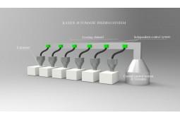 Automatische Fütterungssystem , automatische Beschickung für Granulate, automatische Fütterungssystem für Extrusionsanlagen , automatische Fütterung, Futterautomaten