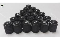 Reifen-Ventil-Kappe, Universal-Auto-Rad-Reifen-Ventile, PP Plastik-Automobil-Fahrrad-Reifen-Ventil-Düsen-Kappe, Staubkappe, Rad-Reifen-Ventil-Schaft-Kappen