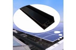 Solarmodul-Montageschiene, Panel-Montageschiene, Panel-Montagehalterungen, Aluminiumschiene