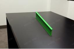 grünes Polyamid, grüne thermische Trennung, Farbanstrich Polyamid, blaues PA66